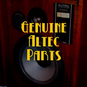 Altec Speaker Parts