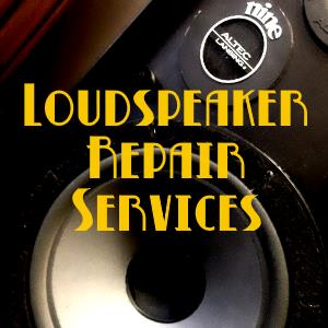 Speaker Repair Services