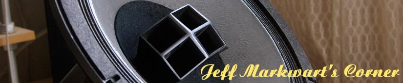 Jeff Markwart's Corner