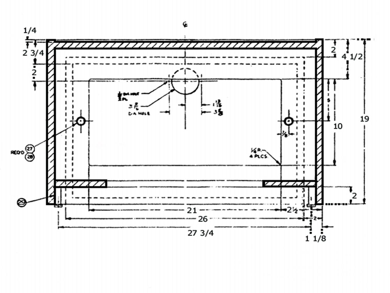 Altec Lansing Model 19 Cabinet Plans - Great Plains Audio