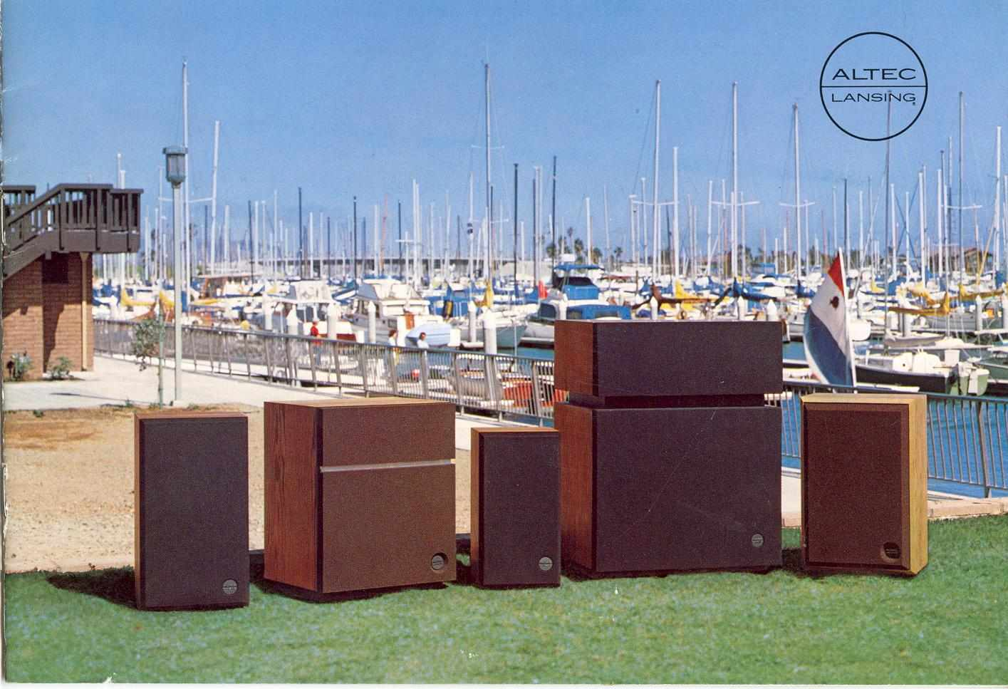 Altec Lansing 1978 Brochure